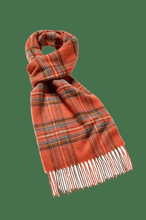 Sjaal Antique Royal Stewart 25x190