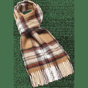 Sjaal Camel Stewart 25x190