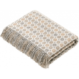 Plaid Milan Natural