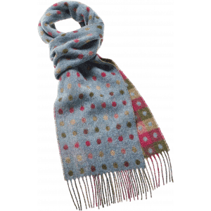 Sjaal Multi Spot Teal