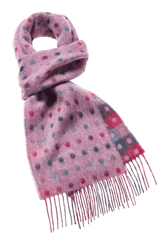 Schal Multi spot Lilac