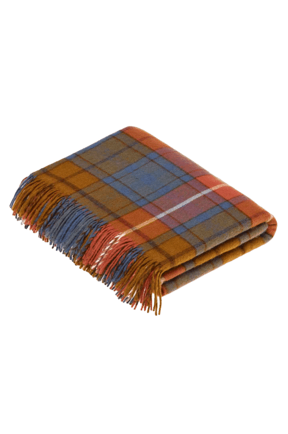 Tartan Decke Antique Buchanan