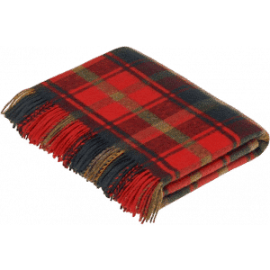 Tartan Plaid Dark Maple