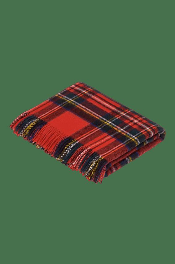 Tartan Decke Royal Stewart